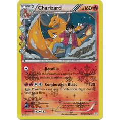 Charizard RC5/RC32 Uncommon - Pokemon Generations Card