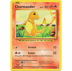 Charmander 9/108 Common - Pokemon XY Evolutions Single Card