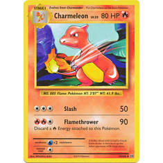 Charmeleon 10/108 Uncommon - Pokemon XY Evolutions Single Card