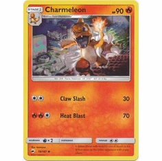Charmeleon 19/147 Uncommon - Pokemon Sun & Moon Burning Shadows Card