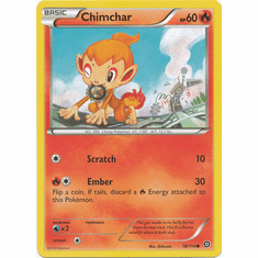 Chimchar 18/114 Common - Pokemon XY Steam Siege Card