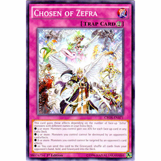 Chosen of Zefra CROS-EN071 Common - YuGiOh Crossed Souls Card