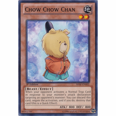 Chow Chow Chan SHSP-EN002 - YuGiOh Shadow Specters Common Card