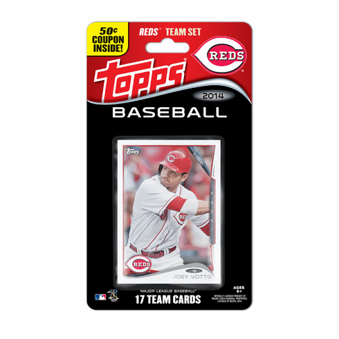 Cincinnati Reds 2015 Topps Baseball Card Team Set