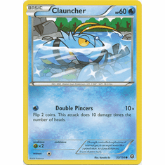 Clauncher 33/114 Common - Pokemon XY Steam Siege Card
