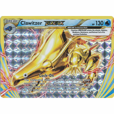Clawitzer BREAK 35/114 Rare BREAK - Pokemon XY Steam Siege Card