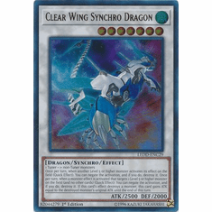 Clear Wing Synchro Dragon - LEDD-ENC29 - Ultra Rare