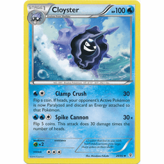 Cloyster 20/83 Uncommon - Pokemon Generations Card