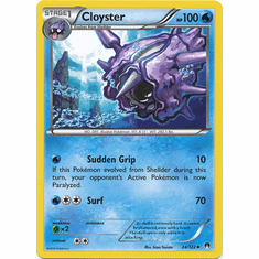 Cloyster 24/122 Uncommon - Pokemon XY Breakpoint Card