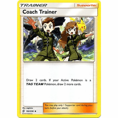 Coach Trainer - 192/236 - Uncommon Sun & Moon: Unified Minds