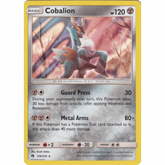 Cobalion - 129/214 Pokemon � SM Lost Thunder HR