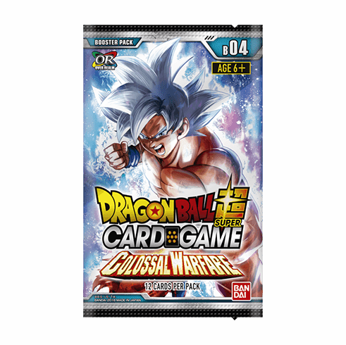 Colossal Warfare Dragon Ball Z Booster Pack