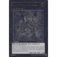 Constellar Omega LTGY-EN091 - Ultimate Rare