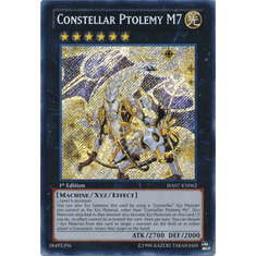 Constellar Ptolemy M7 HA07-EN062 - YuGiOh Knight Of Stars Secret Rare Card