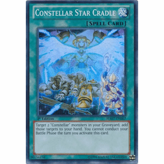 Constellar Star Cradle HA07-EN067 - YuGiOh Knight Of Stars Super Rare Card