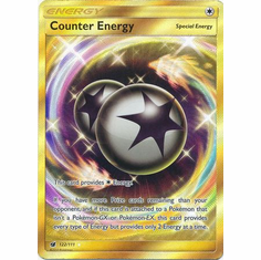 Counter Energy 122/111 Secret Rare - Pokemon Crimson Invasion Card