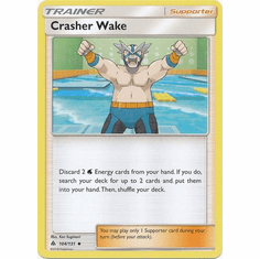 Crasher Wake 104/131 Uncommon - Pokemon Sun & Moon Forbidden Light Card