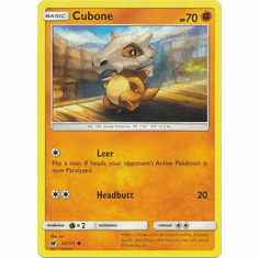 Cubone 52/111 Common - Pokemon Crimson Invasion Card