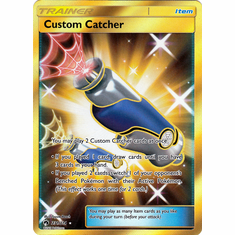 Custom Catcher - 231/214 - Secret Rare