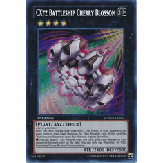 CXyz Battleship Cherry Blossom NUMH-EN044 - Number Hunters Secret Rare