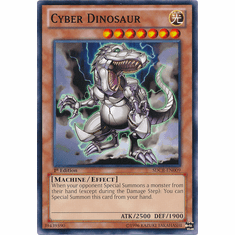 Cyber Dinosaur SDCR-EN009 - YuGiOh Cyber Dragon Revolution Common Card