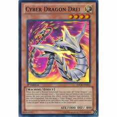 Cyber Dragon Drei SDCR-EN002 - YuGiOh Cyber Dragon Revolution Super Rare