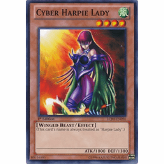 Cyber Harpie Lady LCJW-EN096 - YuGiOh Joey's World Common Card