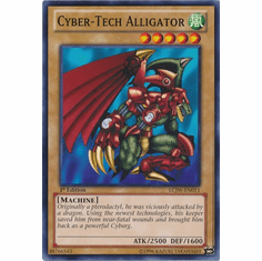 Cyber-Tech Alligator LCJW-EN011 - YuGiOh Joey's World Common Card