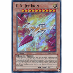 D.D. Jet Iron HA07-EN035 - YuGiOh Knight Of Stars Super Rare Card