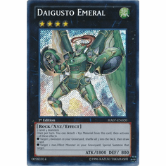 Daigusto Emeral HA07-EN020 - YuGiOh Knight Of Stars Secret Rare Card