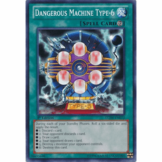 Dangerous Machine Type-6 LCJW-EN072 - YuGiOh Joey's World Common Card