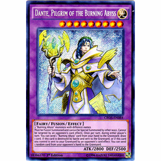 Dante, Pilgrim of the Burning Abyss CROS-EN084 Secret Rare - YuGiOh Crossed Souls Card