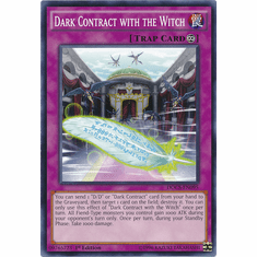 Dark Contract with the Witch DOCS-EN095 Common - Dimension Of Chaos Card
