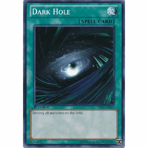 Dark Hole YSYR-EN025 - YuGiOh Common Card