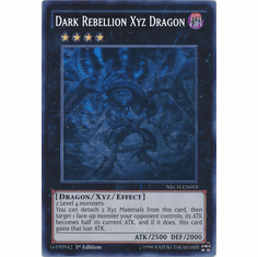 Dark Rebellion Xyz Dragon NECH-EN053 - GHOST The New Challengers Card