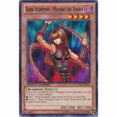 Dark Scorpion - Meanae the Thorn GLD5-EN012 - YuGiOh Haunted Mine Common Card