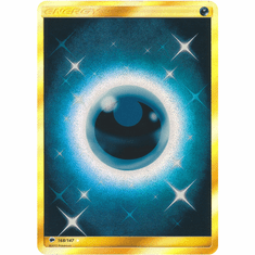 Darkness Energy 168/147 Secret Rare - Pokemon Sun & Moon Burning Shadows Card