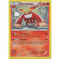 Darmanitan 25/114 - Pokemon Black & White Holo Rare Promo Card