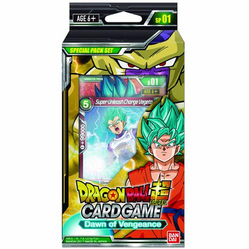 Dawn Of Vengeance Dragon Ball Z Special Pack