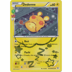 Dedenne RC10/RC32 Uncommon - Pokemon Generations Card