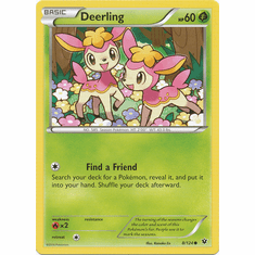 Deerling 8/124 Common - Pokemon XY Fates Collide Card