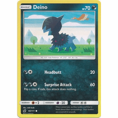 Deino 60/111 Common - Pokemon Crimson Invasion Card