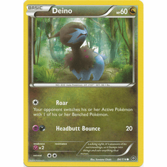 Deino 84/114 Common - Pokemon XY Steam Siege Card