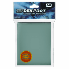 Dek Prot Standard Sized Card Sleeves - Cactus Green (60 Card Sleeves)
