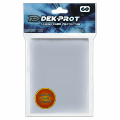 Dek Prot Standard Sized Card Sleeves - Clear (50 Card Sleeves)