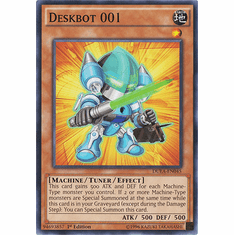 Deskbot 001 DUEA-EN045 - Common Duelist Alliance Card