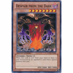 Despair from the Dark GLD5-EN008 - YuGiOh Haunted Mine Common Card
