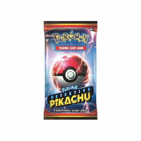 Detective Pikachu Booster Pack (Pokemon) Pokemon Sealed Product