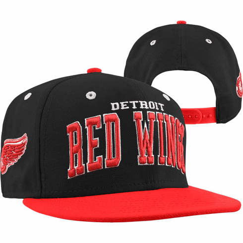 8bd6a4dc7c3b6 ... netherlands detroit red wings super star black adjustable snapback hat  663cf fb281