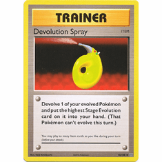 Devolution Spray 76/108 Uncommon - Pokemon XY Evolutions Single Card